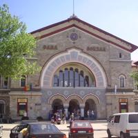Кишинёв. Железнодорожный вокзал.