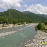 Река Псезуапсе в Лазаревском