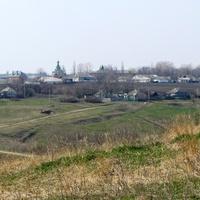 село Скородное. Вид на церковь.