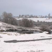 Зима в Скородном.