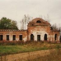 Храм Рождества Христова у села Илкодино. 1995г.