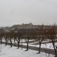 Вид с Нарвской стороны на Ивангород