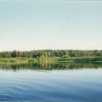 На озере Свято. Сентябрь 2003г.
