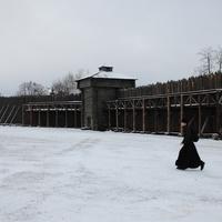 Фрагмент оборонительной стены.