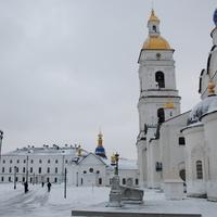 В кремле.