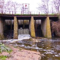 Дамба  на річці Гнилий Ташлик.