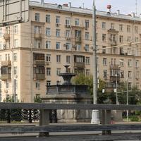 Фонтан на Крестовском мосту