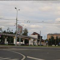 Станция Улица Сергея Эйзенштейна Московского монорельса