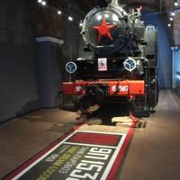 Музей железных дорог России. Танк- паровоз 1953