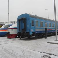 Музей железных дорог России. Техника на площадке под открытым небом