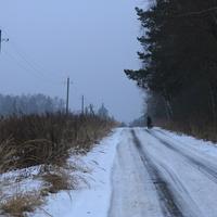 Дорога в Иван-Теремец