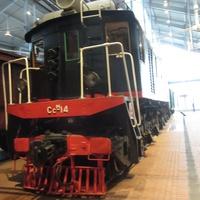 Музей железных дорог России. Грузовой электровоз. Год выпуска 1933