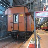 Музей железных дорог России. Пассажирские перевозки 1930-1940 годов