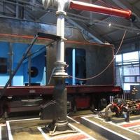 Музей железных дорог России. Гидравлическая колонка