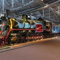 Музей железных дорог России. Грузовой паровоз, год выпуска 1955