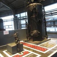 Музей железных дорог России. Паровой вертикальный котел системы Шухова