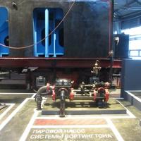 Музей железных дорог России. Паровой насос системы Вортингтона