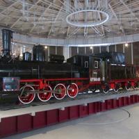 Музей железных дорог России. Поворотный круг