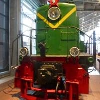 Музей железных дорог России. Грузопассажирский тепловоз, год выпуска 1947-1951