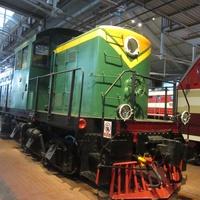 Музей железных дорог России. Грузопассажирский тепловоз, год выпуска 1944-1945