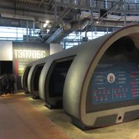 Музей железных дорог России. Тренажер машиниста тепловоза