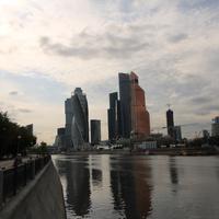 Набережная Тараса Шевченко, река Москва