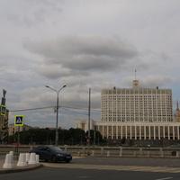 Дом правительства РФ, бывший дом Верховного Совета и Совета Министров РСФСР