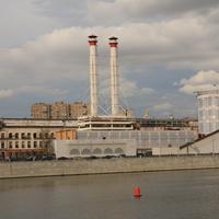 Красная Пресня, Трёхгорная мануфактура, река Москва