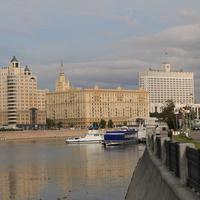 Красная Пресня, река Москва