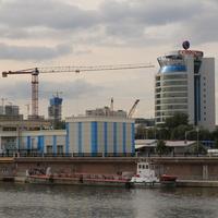 Ресторан-бар VinoGrad и промводозабор и очистные сооружения Москва-Сити