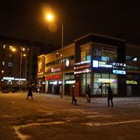 Район Финляндского вокзала.