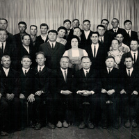 Активісти колгоспу ім. Калініна та сільради с. Новопетрівки в 70-х роках 20-го століття.