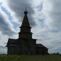 Петропавловская церковь (1722 г.). Погост (Ратонаволок)