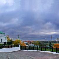 Осенний вечер. Спасский холм