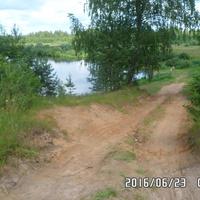 село Труженик. Река Молога