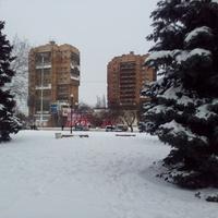 Площадь Победы. Зима.