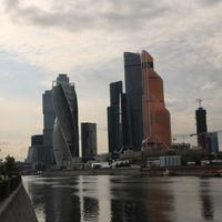 Москва - Сити, река Москва