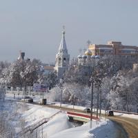 Павловская Слобода. Зима