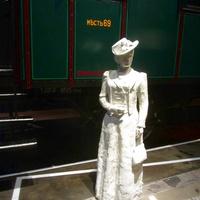 Музей железных дорог России. Ожидание на перроне