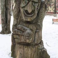 Курск. Детский парк. Январь-2018.