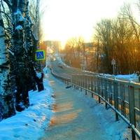 Приволжск , мухинский мост