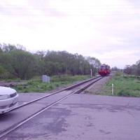 Вид приблизительно оттуда же в противоположном направлении - на юг, в сторону станции Христофоровка
