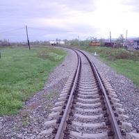 Вид в северном направлении от переезда, 2006 год
