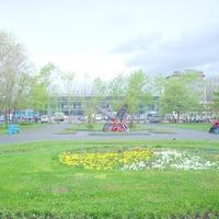 Вокзал на станции Южно-Сахалинск. 2006 год