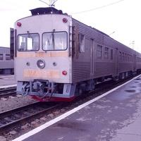 Станция Южно-Сахалинск, дизель-поезд Д2-008
