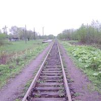 Село Углезаводск, платформа 15 километр