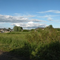 вид на деревню