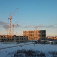 Строительство домов на улице Зареченской