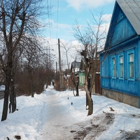 Домики на улице Спивака