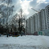 Долгострой на улице Бахарева